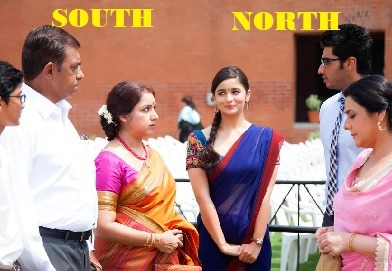 north Indian south Indian stereotypes